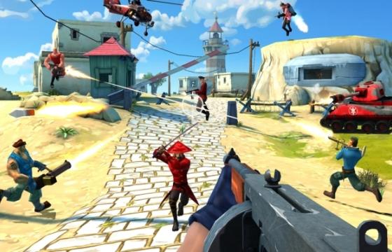Video: Blitz Brigade is een ludiek multiplayer-schietspel