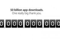 App Store bereikt 50 miljard app downloads