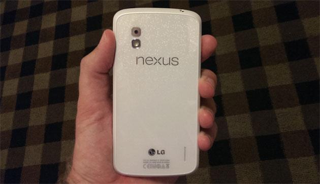 'Witte Nexus 4 met Android 4.3 Jelly Bean vanaf 10 juni beschikbaar'