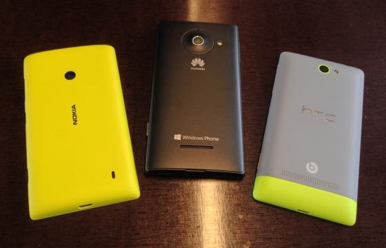 Review: Drie betaalbare Windows Phone 8-telefoons tegenover elkaar