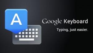 Google Keyboard: Nexus-toetsenbord nu voor iedere Android