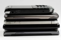 De smartphones van sterren