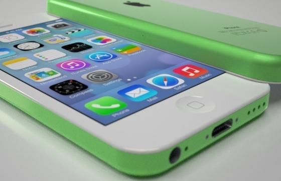 Conceptfoto's van goedkope iPhone verschenen