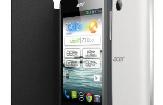 Acer kondigt Liquid Z3 Duo aan voor Nederlandse markt