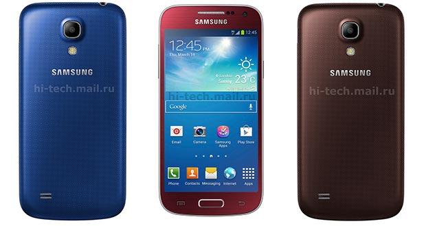 Galaxy S4 Mini krijgt drie nieuwe kleuren