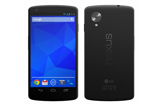 'Android 4.4 en Nexus 5 mogelijk op 15 oktober beschikbaar'