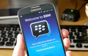BlackBerry heft BBM wachtrij voor Android en iOS op