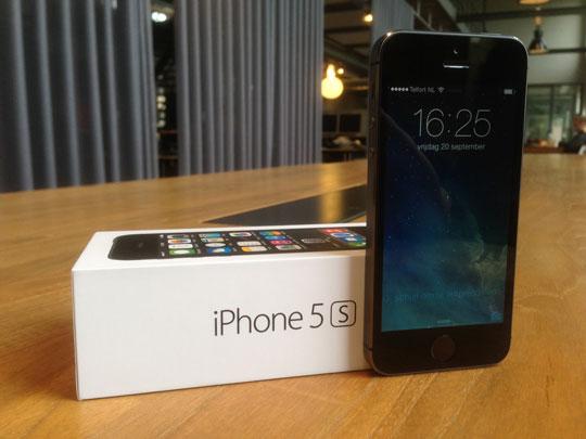iPhone 5S populairste smartphone in Verenigde Staten