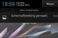 Screenshots maken op je smartphone