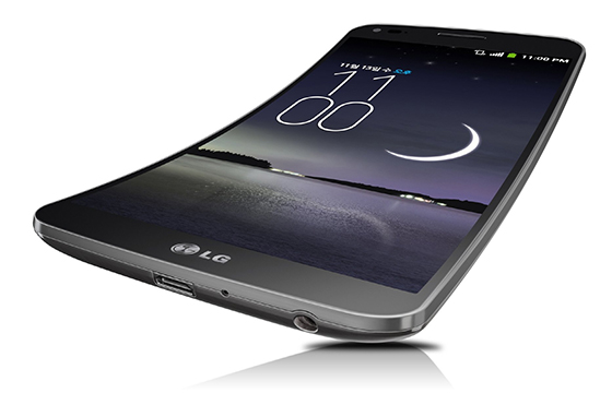 Flexibele smartphone LG G Flex volgende maand te koop in Europa