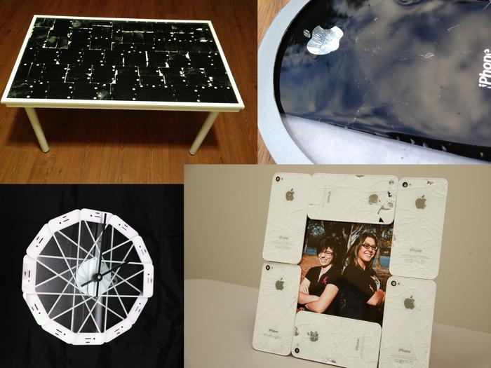 KickStarter-project vormt kapotte iPhones om tot woonaccessoires