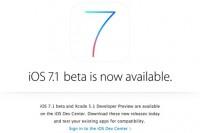 iPhone-gebruikers kunnen binnenkort aan de slag met iOS 7.1