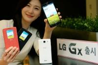 LG onthult LG Gx met 5,5 inch-scherm in Zuid-Korea