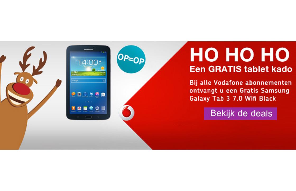 Weekendknaller: gratis Galaxy Tab 3 bij een Vodafone abonnement