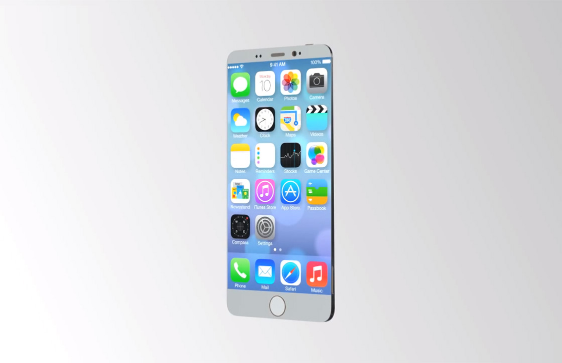 iPhone 6 conceptvideo toont extreem dunne iPhone