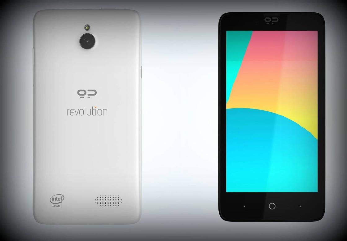 Foto's tonen smartphone met Android en FireFox OS