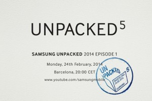 Unpacked Event Galaxy S5 presentatie