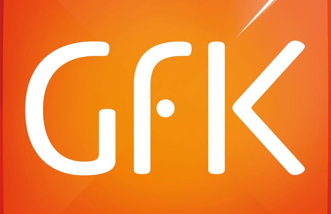 Gfk: 'Smartphones met 4G en grote schermen steeds populairder'