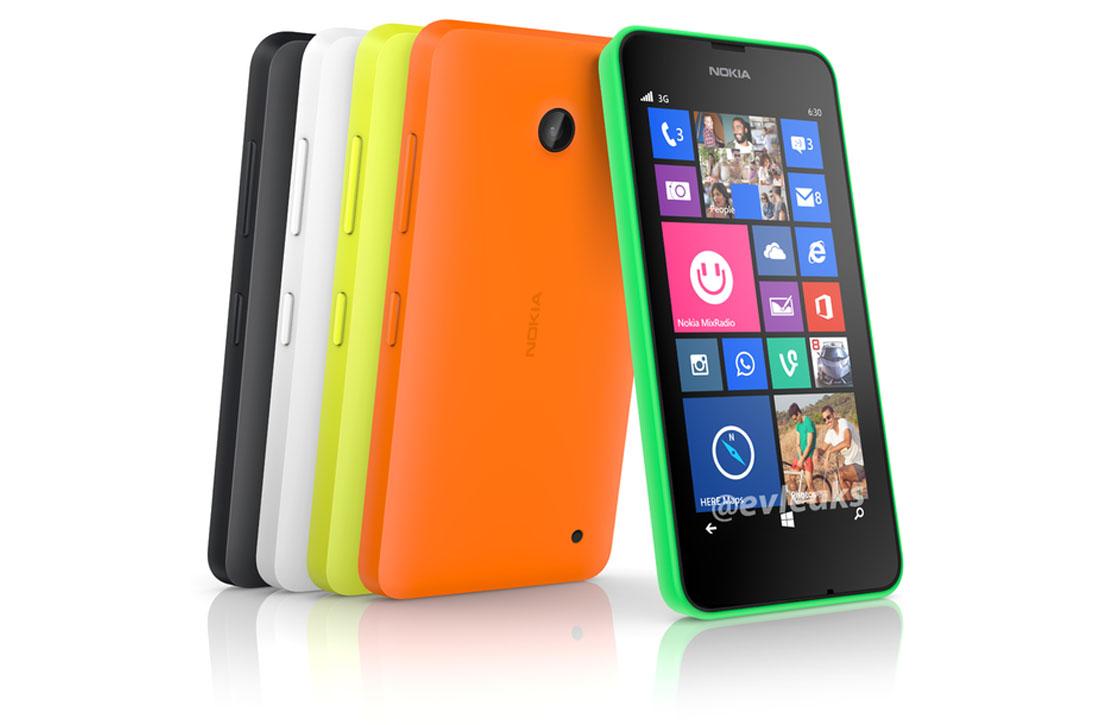 Zo ziet een Lumia 630 met Windows Phone 8.1 eruit