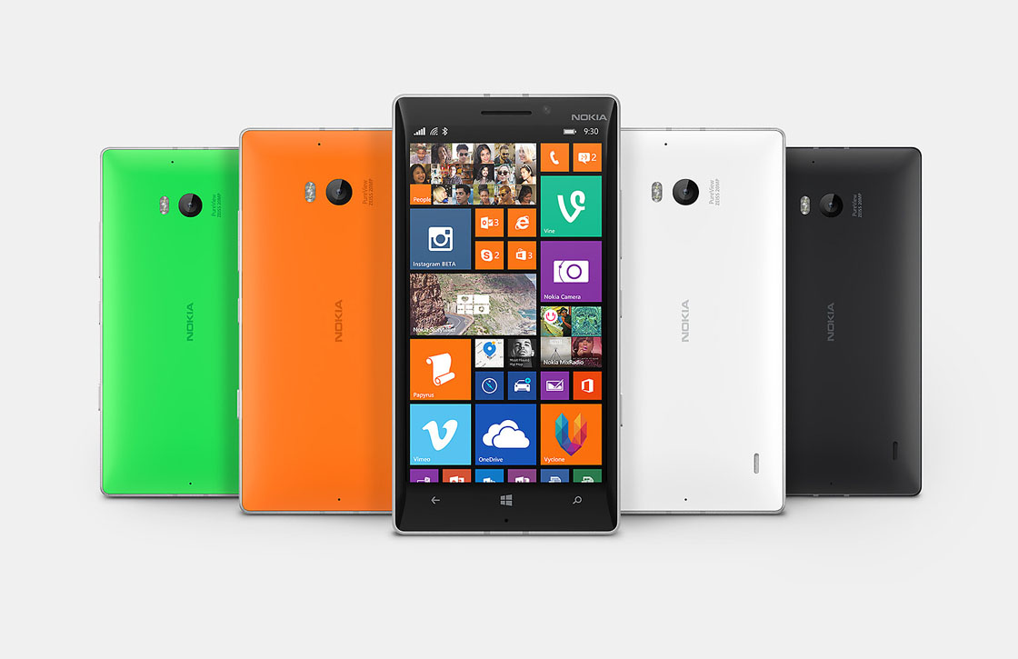 Nokia kondigt high-end Lumia 930 aan: full-hd en Snapdragon 800