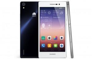 Huawei onthult Ascend P7, superdunne smartphone met 5 inch-scherm
