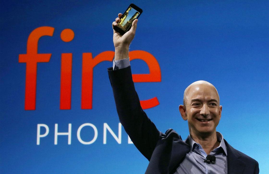5 zaken die je moet je weten over de Amazon Fire Phone