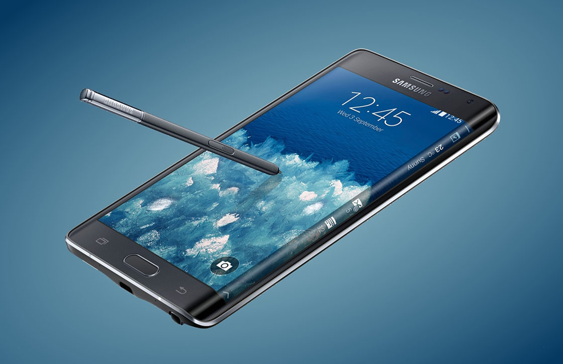 Samsung Galaxy Note Edge in december naar Nederland