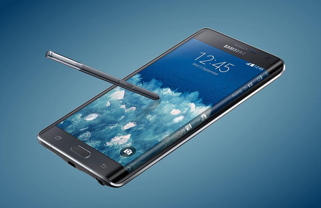 Samsung Galaxy Note Edge in december naar Nederland