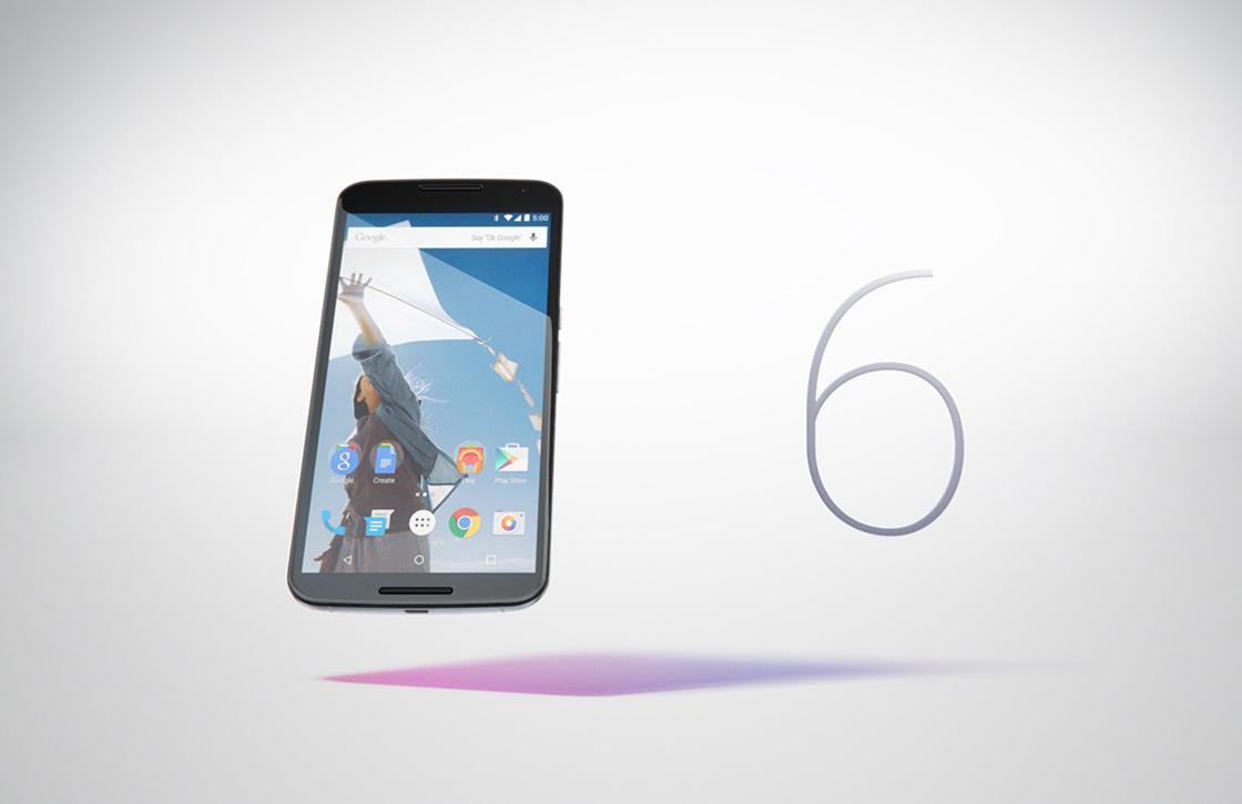 Nexus 6 verschijnt in Google Play, maar is nog niet te koop