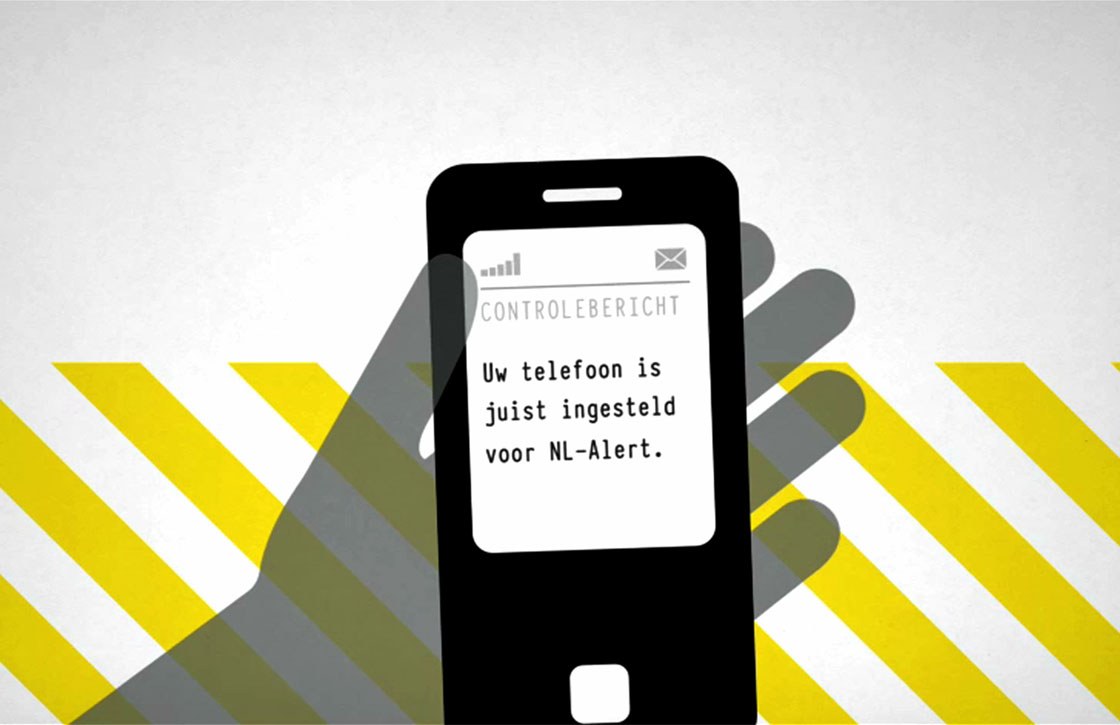 Overheid stuurt vandaag om 12.00 uur NL Alert controlebericht uit