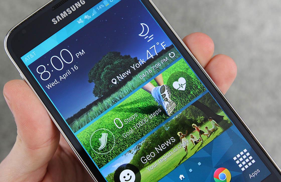 'Samsung Galaxy S6 krijgt opties om interface aan te passen'