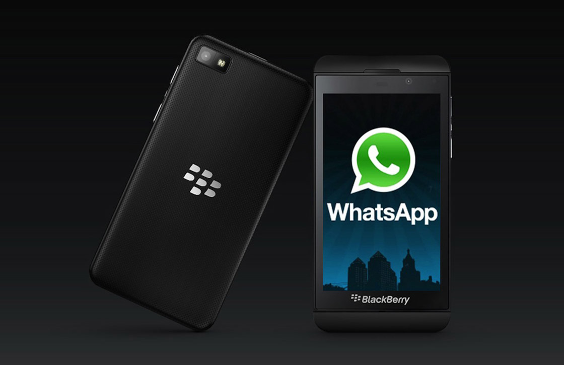 Bellen met WhatsApp nu ook voor BlackBerry 10