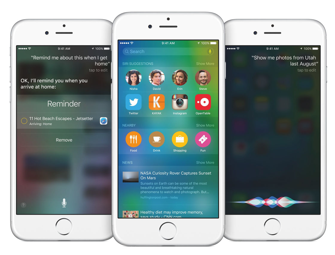 ios 9 iphone 6s