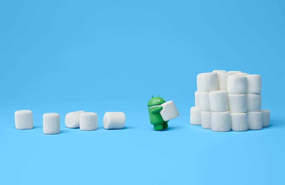 Android 6.0 (Marshmallow) op steeds meer toestellen geïnstalleerd