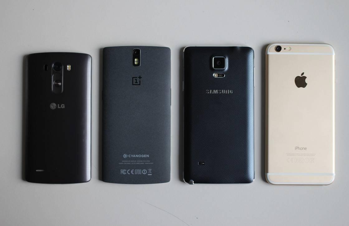 Aantal verscheepte toestellen in smartphonemarkt stagneert