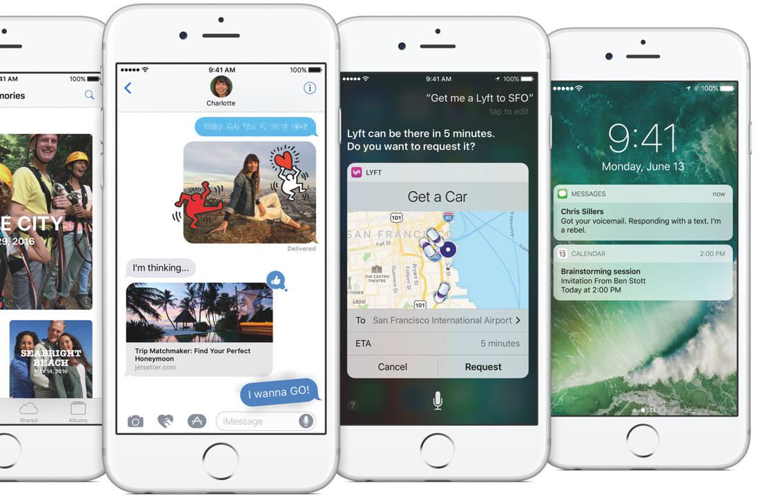 De 7 belangrijkste vernieuwingen in iOS 10