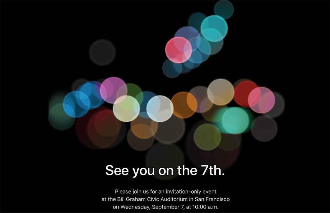 Dit kun je verwachten van de iPhone 7 en iPhone 7 Plus