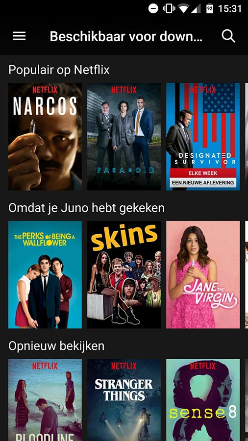 how to download netflix tv series offline