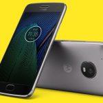 Moto G5 foto's