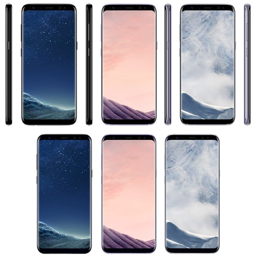 Galaxy S8 renders