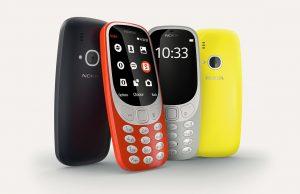 Mogelijk 3G-variant van nieuwe Nokia 3310 op komst