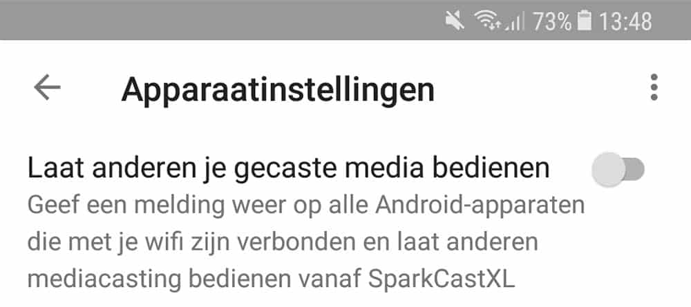 chromecast notificaties