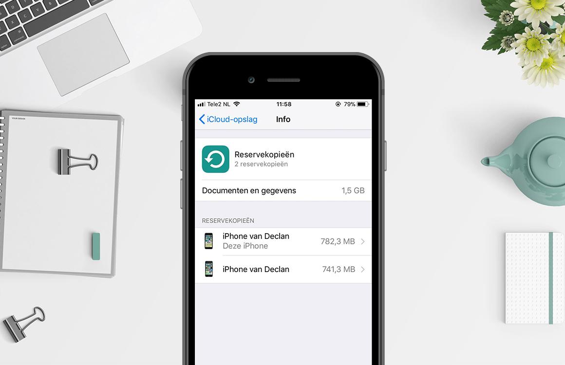 In 4 stappen een back-up maken van je iPhone, iPad en iPod touch
