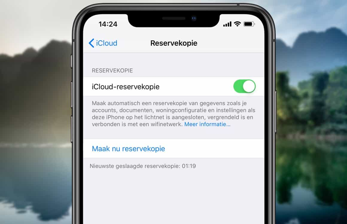 In 4 stappen een back-up maken van je iPhone of iPad