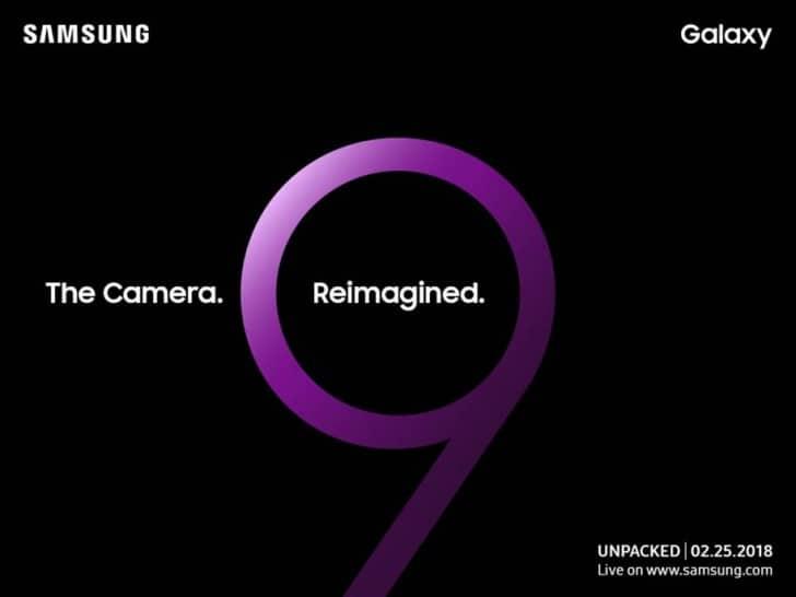Galaxy S9 aangekondigd