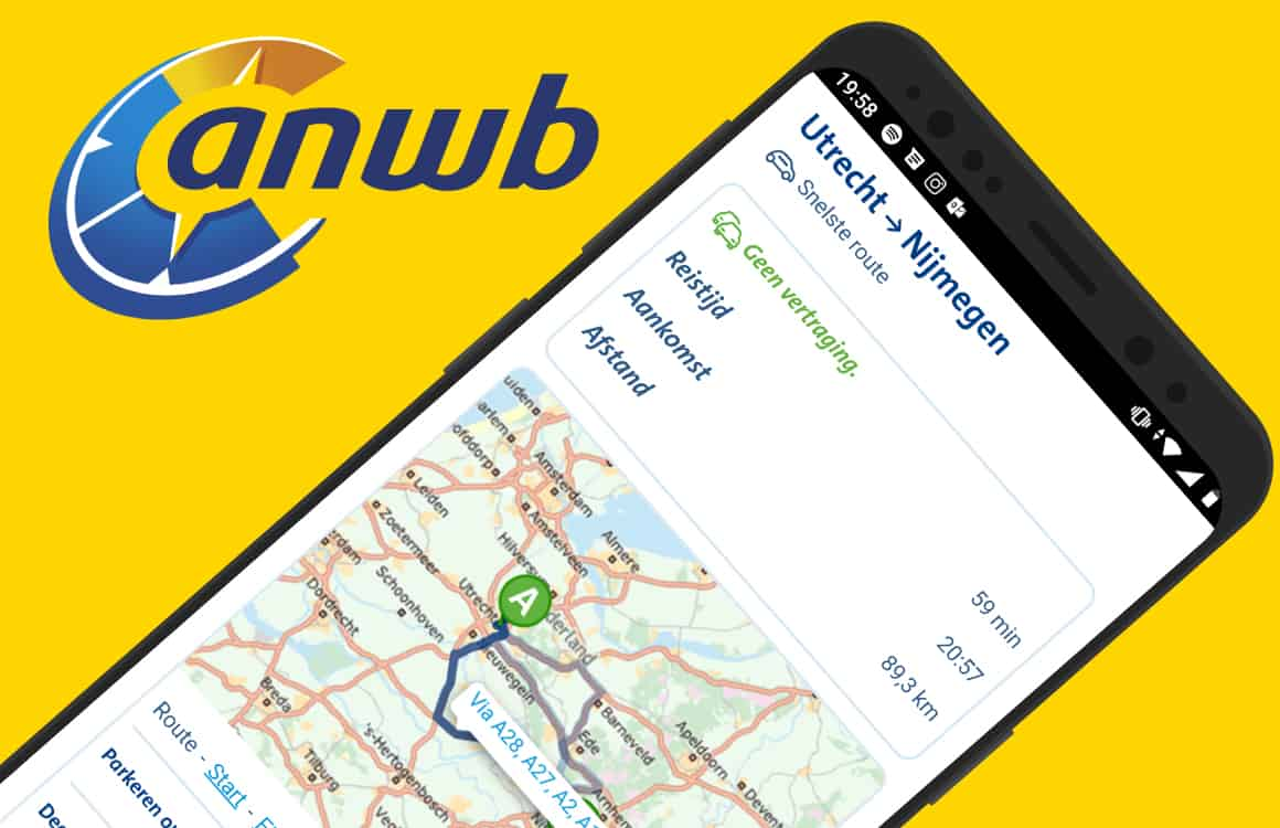 Nooit meer verdwalen: zo werkt de ANWB Routeplanner en ANWB Onderweg