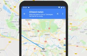 Tip: Zo meet je afstand met je Android-toestel of iPhone