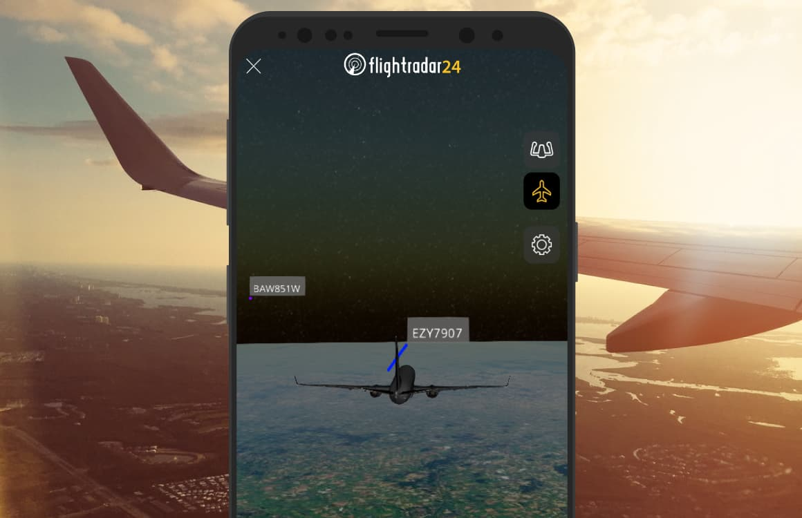 Flightradar24-3dmodus