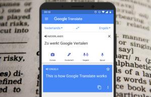 Google Translate: zo werkt de vertaalfunctie van Google