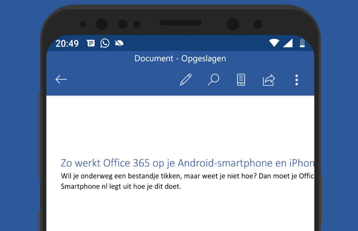 Office-365-android-word